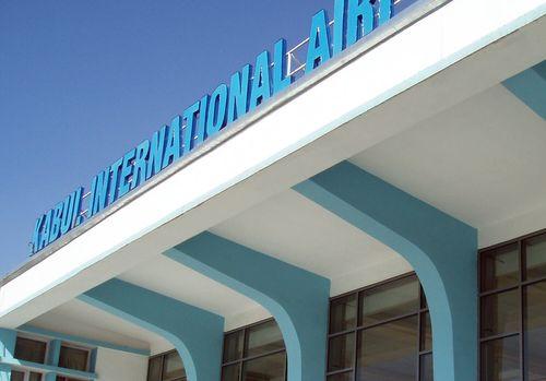 Wir sind gerade auf dem Flughafen von Kabul angekommen