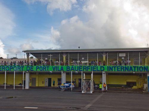 Bauerfield Airport