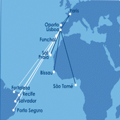Hi fly route map