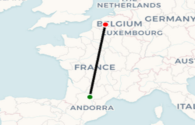 WDL Aviation route map